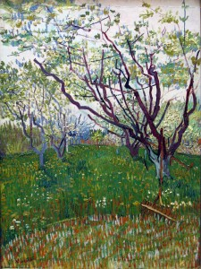 "Vincent van Gogh, ""The Flowering Orchard""; 1888; Metropolitan Museum, New York; courtesy of commons.wikimedia.org"